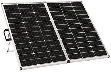 Foldable  Solid Solar Panel  Controller 140 Watt Mono Cell 42 X 24.5 X 4.5 Inches