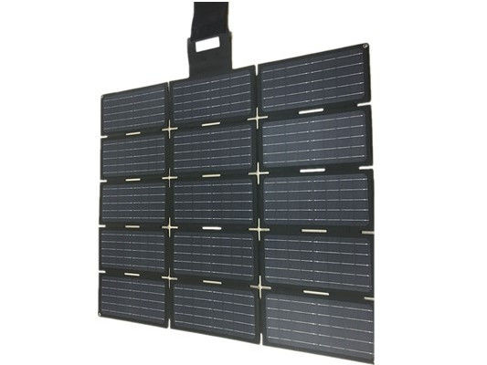 150W Portable Foldable Solar Panel Charger With Dual USB Ports